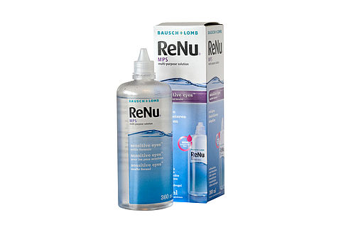 ReNu MPS Sensitive Eyes multi-purpose solution
