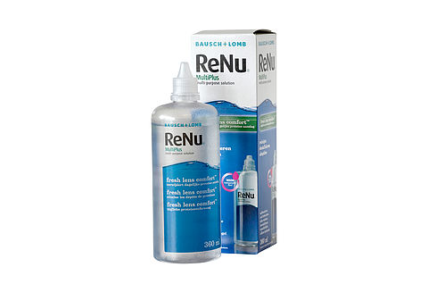 ReNu MultiPlus Fresh Lens Comfort multi-purpose solution